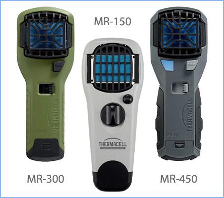 Отпугиватели Thermacell MR-150, MR-300, MR-450