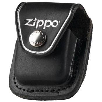 Чехол Zippo LPCBK чёрный с клипом