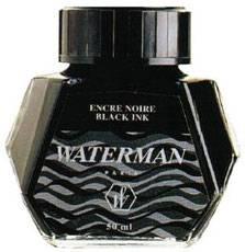 Чернила во флаконе Waterman Black (S0110710)