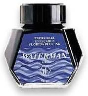 Чернила во флаконе Waterman Blue (S0110720)