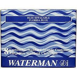 Чернила в картриджах 52002 Waterman Blue (S0110860)