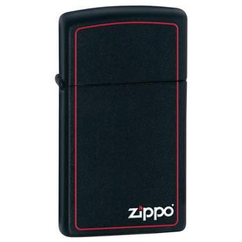 Зажигалка Zippo 1618ZB Black Matte Slim