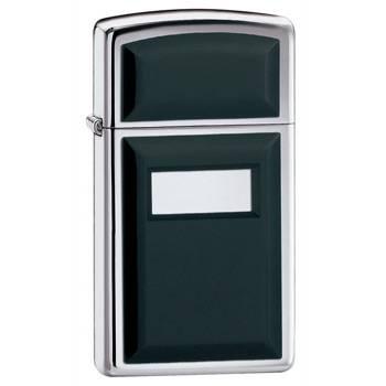 яЗажигалка Zippo 1655  Black Ultralite Slim