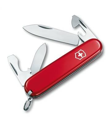 Нож Victorinox 0.2503 Recruit офицерский, 84мм, красный