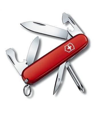 Нож Victorinox 0.4603 Tinker Small офицерский, 84мм, красный