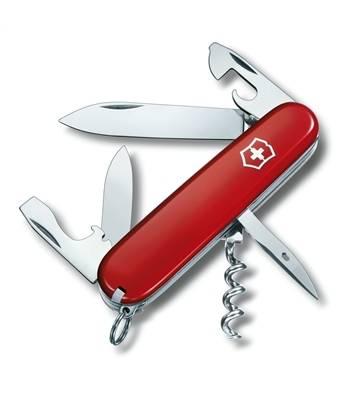 Нож Victorinox 1.3603 Spartan офицерский, 91мм, красный