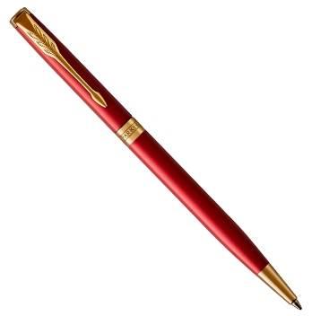 Parker Sonnet Slim K439 Red GTшариковая ручка 1859473