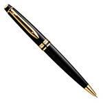 Шариковая ручка Waterman Expert Black Lacquer GT (S0951700)