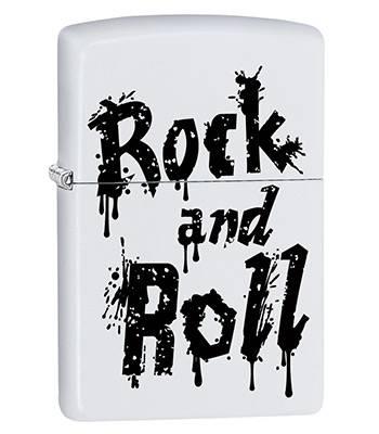 Зажигалка Zippo 29538 Rock and Roll White Matte