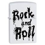 Зажигалка Zippo 29538 Rock and Roll White Matte