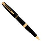 Перьевая ручка Waterman Charleston Black GT (S0700980)