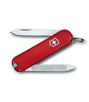 Нож-брелок Victorinox 0.6123 Escort, 58мм, красный