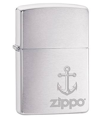 Зажигалка Zippo 29531 Anchor Brushed Chrome