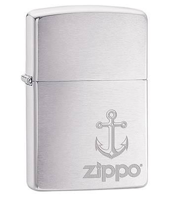 Зажигалка Zippo 29531 Anchor Brushed Chrome