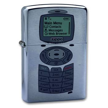 Зажигалка Zippo 200 Phone