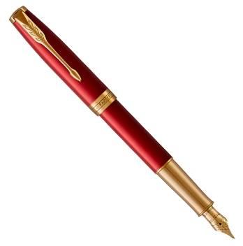 Перьевая ручка Parker Sonnet Core F539 Lacquer Red GT 1931478