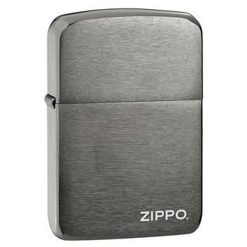 Зажигалка Zippo 24485 1941 Replica Black Ice