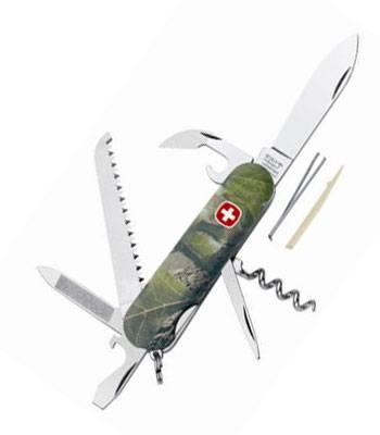 яНож Wenger Classic 1.13.09.803 Армейский нож камуфляж