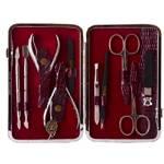 Маникюрный набор профессиональный Zinger zMSFE 804-S (10 предметов)