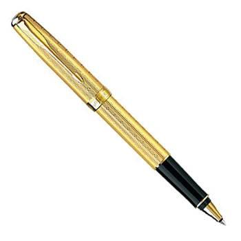 яParker Sonnet T532 Chiselled Golden GT ручка-роллер S0808260