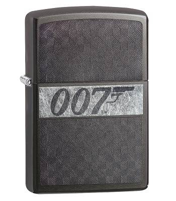 Зажигалка Zippo 29564 James Bond Black Ice