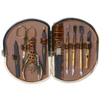Маникюрный набор профессиональный Zinger zMSFE 1001-G (9 предметов)