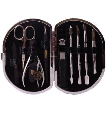 Маникюрный набор профессиональный Zinger zMSFE 1001-S (9 предметов)