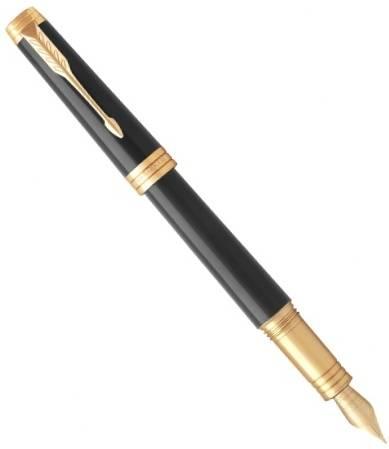 Parker Premier F560 Lacque Black GT перьевая ручка (1931409)