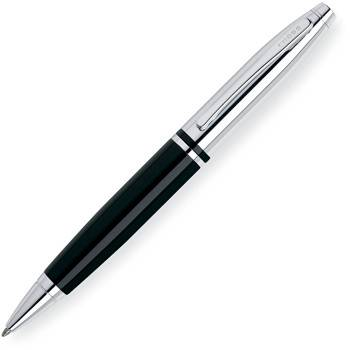 Шариковая ручка Cross Calais Chrome/Black (AT0112-2)