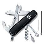 Нож Victorinox 1.3405.3 Compact офицерский, 91мм, черный