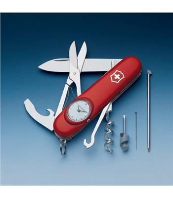 яНож Victorinox 1.3406 Time Keeper офицерский, 91мм, красный
