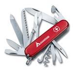 """Нож Victorinox 1.3763.71 Ranger офицерский, 91мм, красный с лого.""""camping"""""""