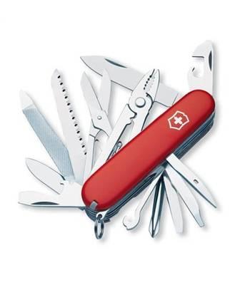 яНож Victorinox 1.4773 Craftsman офицерский, 91мм, красный