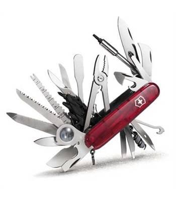 Нож Victorinox 1.6795.XLT SwissСhamp XLT, 91мм, красный