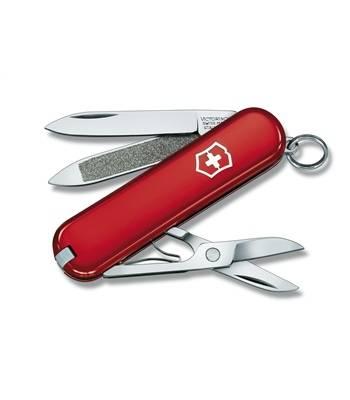 Нож-брелок Victorinox 0.6203 Classic, 58мм, красный