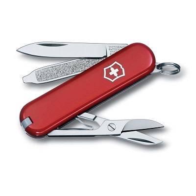 Нож-брелок Victorinox 0.6223 Classic, 58мм, красный