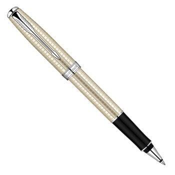 Ручка-роллер Parker Sonnet Premium Cisele Decal T535 Sterling Silver CTсеребро 925пробы(S0912510)