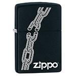 яЗажигалка Zippo 29540 Broken Chain Black Matte