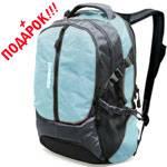 """Рюкзак Wenger 15903415 """"School pack"""" серый/голубой 36х17х48см"""