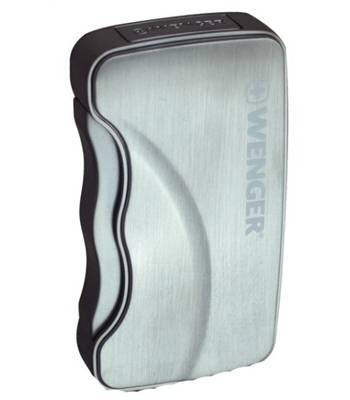 яЗажигалка Wenger WL19.02 газовая ASTERION турбо, хром-сатин