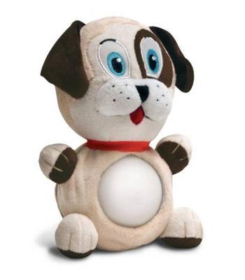 """Детский ночник - светильник Nite Nite Lightzzz NNL-0003 Мягкая игрушка """"Щенок Тоби"""""""