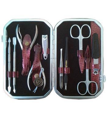 Маникюрный набор профессиональный Zinger zMSFC 804-SM с клиппером(10 предметов)