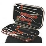 Маникюрный набор профессиональный Zinger zMSFE 804-BP (10 предметов)
