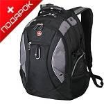 """Рюкзак Swissgear SA1015215 """"Neo"""" черный/серый с отделением для ноутбука 15"""" 36x23x47cm (39л)"""