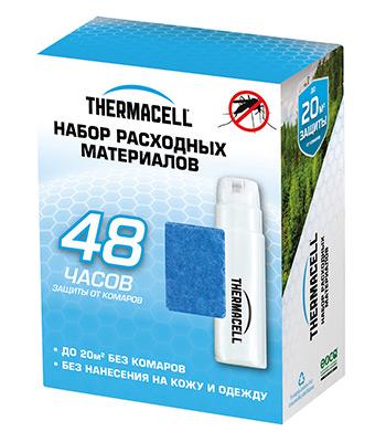 Набор запасной ThermaCELL Refills MR 400-12 (4 баллона + 12 таблеток) 48 часов