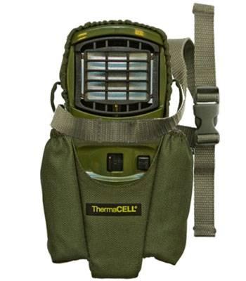 яЧехол для прибора ThermaCELL (оливковый) MR H12-00 (крепёж на ремнях, полиэстер)