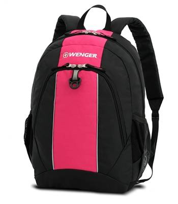 Рюкзак Wenger 17222015 черный/красный 32х14х45 см (22л)
