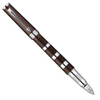 Parker Ingenuity L F501 Brown Rubber & Metal СT Ручка-5й пишущий узел S0959180