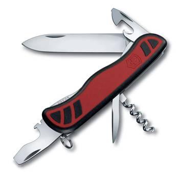 Нож Victorinox 0.8351.C Nomad 111мм, красно-чёрный