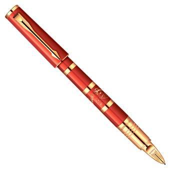 яParker Ingenuity S F502LE Red Dragon GT Ручка-5й пишущий узел (1861197)